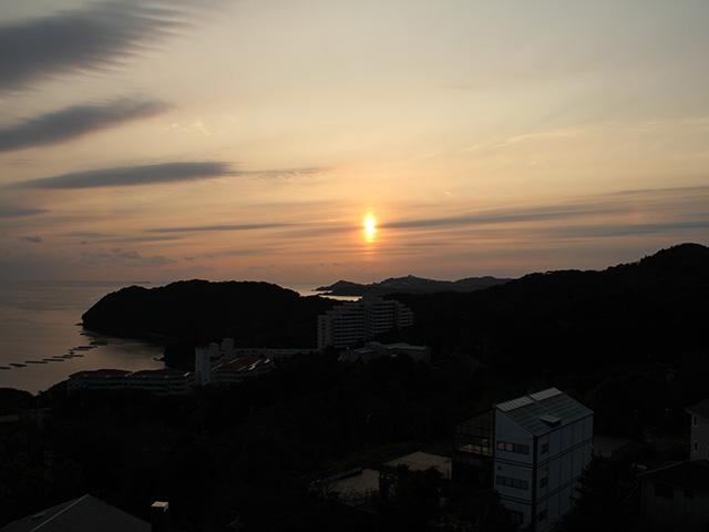 志摩の夕日